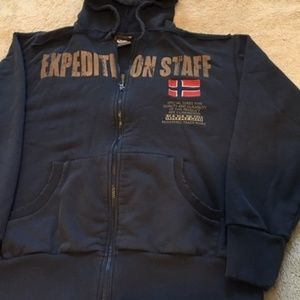 Classic North Face Napapijri Expedition Hoodie